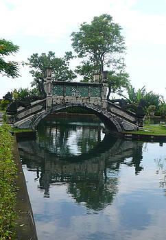 Bridge reflection by Jack Edson Adams