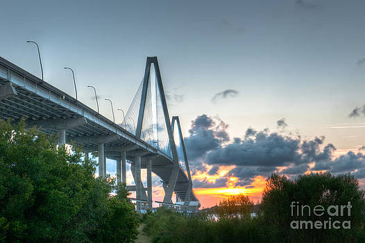 Dale Powell - Bridge Tower at Sunset