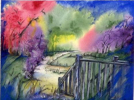 Bridge Walk by Rosemarie Franco-Bell