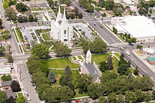 Brigham City Temple by John Ferrante
