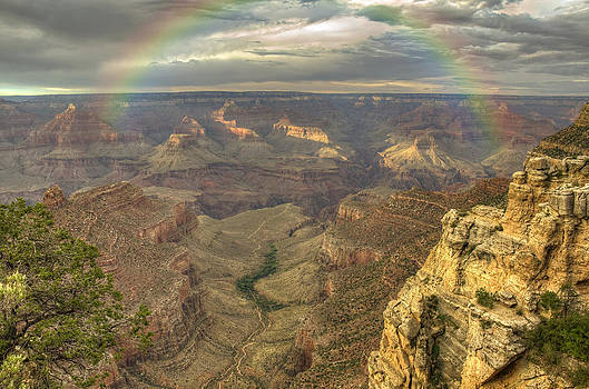 Ricky Barnard - Bright Angel Trail Rainbow