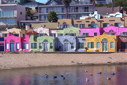 Art Block Collections - Bright Beach Bungalows
