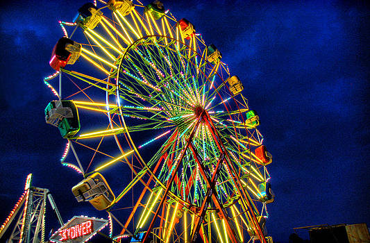 Bright Ferris Wheel by Thomas Taylor