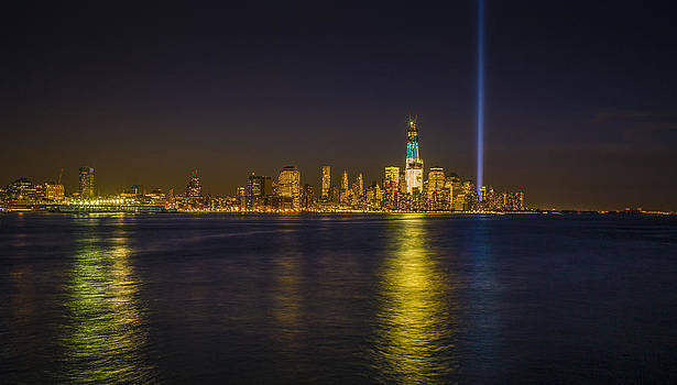 Bright Freedom Tower by Chris Halford