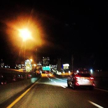 Bright Lights At Night. #skyline by J Amadei
