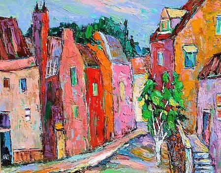 Bright village by Siang Hua Wang