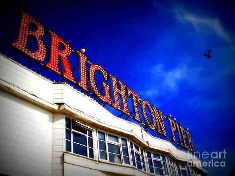 Brighton Pier by Eleni Michael