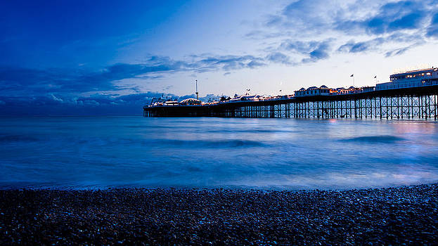 Brighton Pier by Francesco Emanuele Carucci
