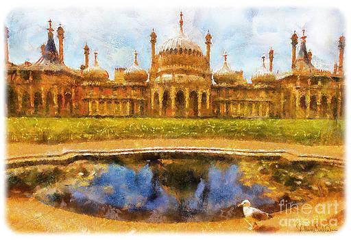 Brighton Royal Pavilion by Dawn Serkin