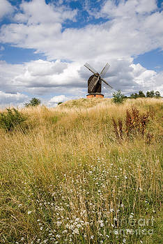 Brill windmill on a sunny summer day by OUAP Photography