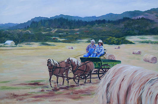 Bringing In The Harvest by Donna Drake