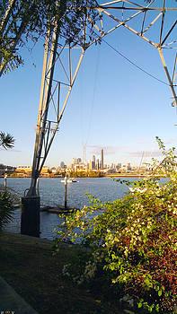 Brisbane City Flying Fox by Edwin Vincent