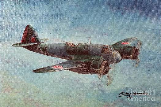 Bristol Beaufighter X by Carlos De Vasconcelos Tavares