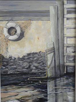 Bristol Docks II by Cae Wuerth