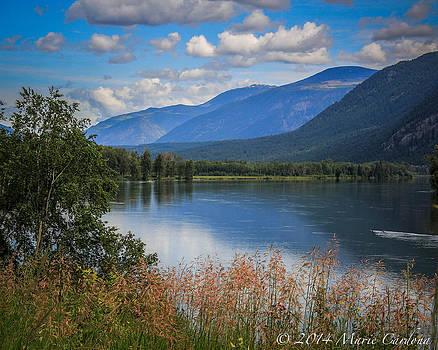 British Columbia Countryside  by Marie  Cardona