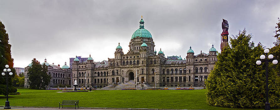 British Columbia Parliament Legislature Building by Greg Reed