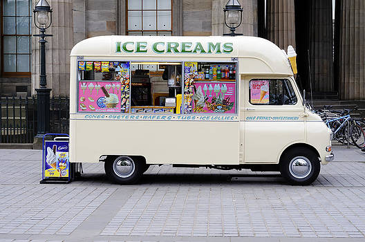 British Ice Cream Van by Norman Pogson