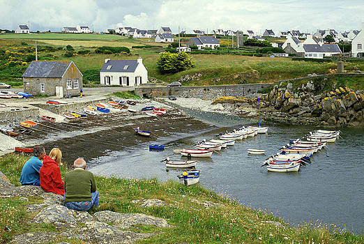 Pors Poulhan Brittany  France by David Davies