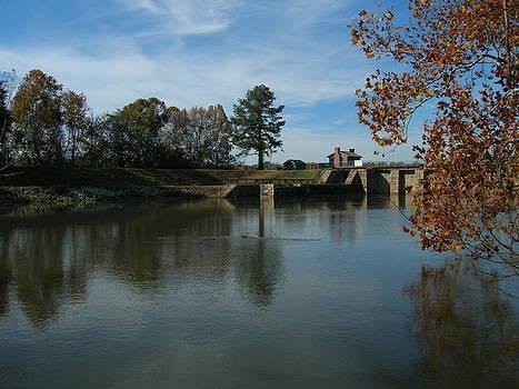 Broad River Dam by Vennie Deas Moore