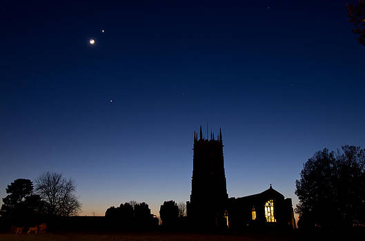Broadclyst Church by Pete Hemington