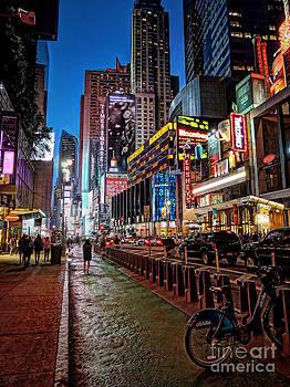 Broadway NYC by Jeff Breiman