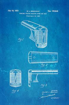 Ian Monk - Brockway Tractor Patent Art 1951 Blueprint