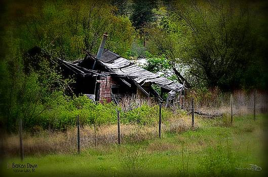 Guy Hoffman - Broken Down Homestead - Vaseux Lake