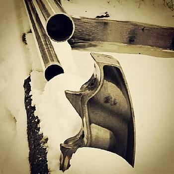#broken #railing On Footbridge In by Brian Harris
