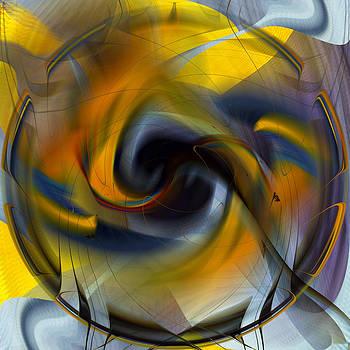 rd Erickson - Broken Shield 1 - abstract