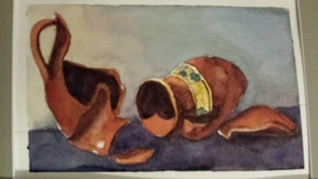 Broken Vases by Dalene Turner