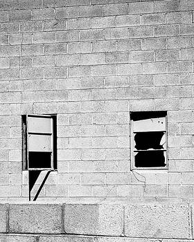 William Dey - BROKEN WINDOWS BW Palm Springs