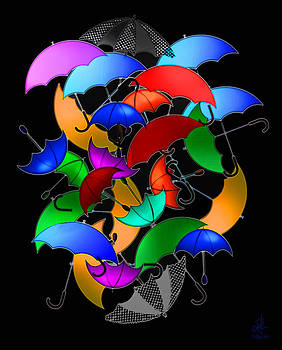 Brollies by Pennie  McCracken