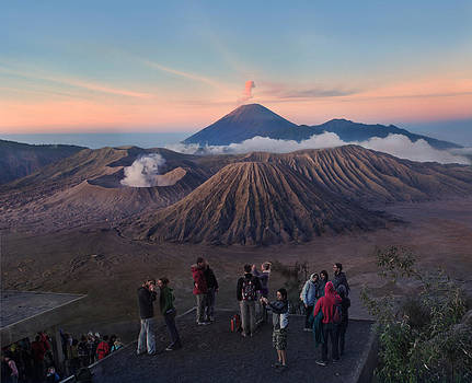 Bromo from Pinajagan II by Weerapong Chaipuck