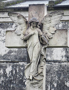 Brompton Cemetery Angel by Gia Marie Houck