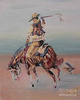 Bronc Rider by Lee Ann Newsom