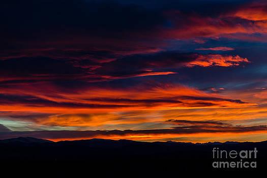 Jon Burch Photography - Bronco Sunset