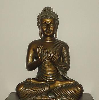 Bronze Buddha by Meghna Suvarna