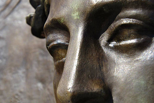 Bronze Face by Kelly E Schultz