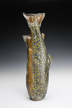 Brook Trout Vessel by Mark Chuck