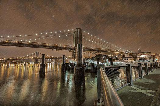 Brooklyn Bridge Art by Boris Blyumberg