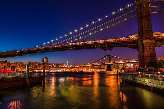 Chris McKenna - Brooklyn Bridge at Night