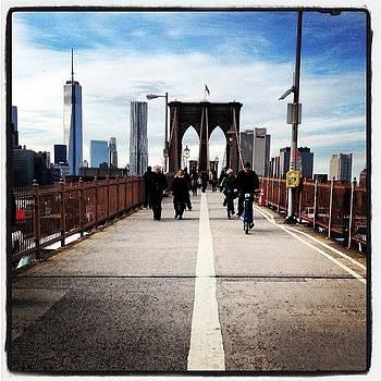 Brooklyn Bridge #brooklyn #bridge #nyc by Craig Kempf