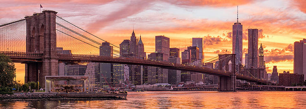 Brooklyn bridge  by Eduard Kraft