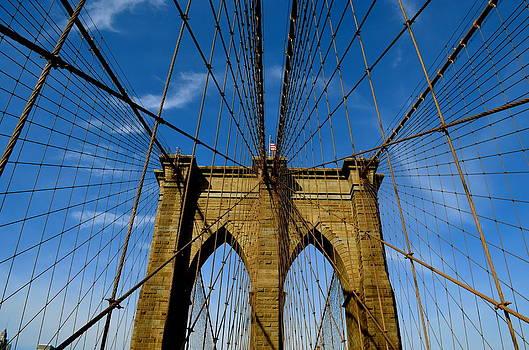 Brooklyn Bridge by Gregory Merlin Brown