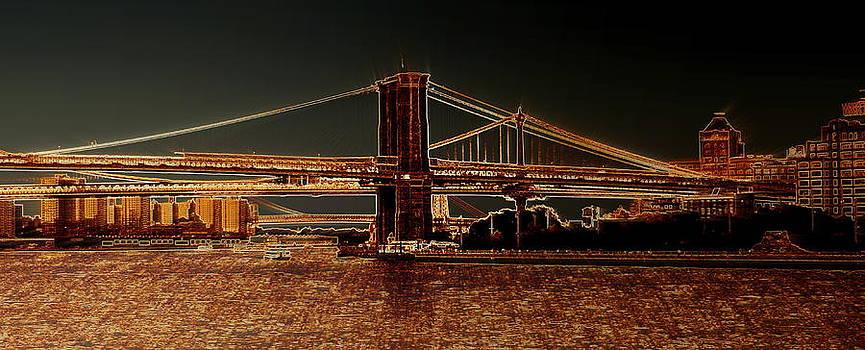Brooklyn Bridge by Scott Schlaff