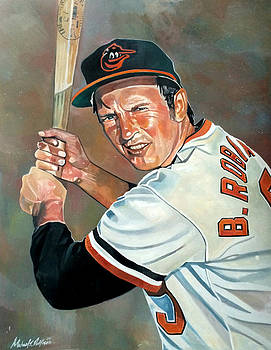 Brooks Robinson by Michael  Pattison