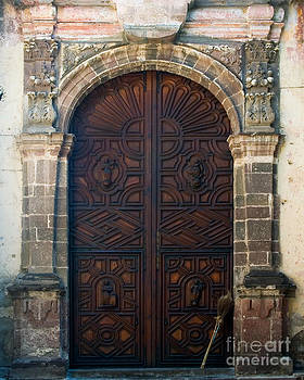 Oscar Gutierrez - Broom at Church Door