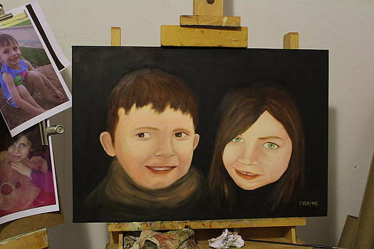 Brother and sister NOT FOR SALE by Patrick Mayne