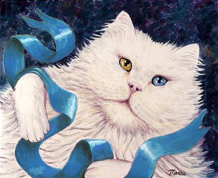 Linda Mears - Brown and Blue Eyed Kitty