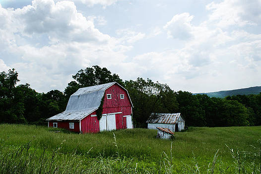 Brown County Barn by Off The Beaten Path Photography - Andrew Alexander